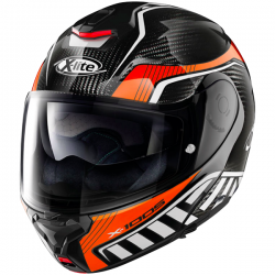 Casque Modulable X-Lite X-1005 Carbon Cheyenne Orange
