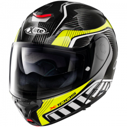 Casque Modulable X-Lite X-1005 Carbon Cheyenne Fluo