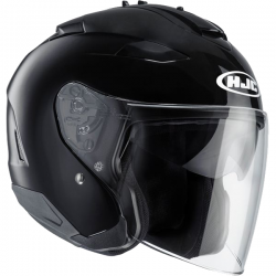 Casque Jet HJC IS-33 II Noir Brillant