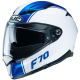Casque Intégral HJC F70 Mago Bleu