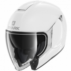Casque Jet Shark City Cruiser Blanc