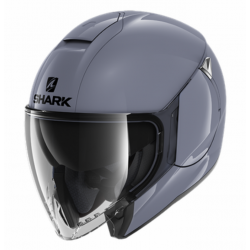 Casque Jet Shark City Cruiser Gris