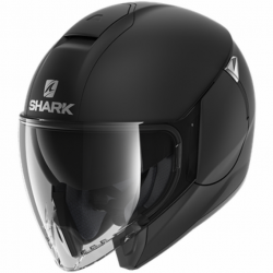 Casque Jet Shark City Cruiser Noir Mat