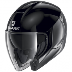 Casque Jet Shark City Cruiser Dual Anthracite Noir