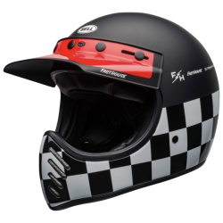 Casque Cross Bell Moto 3 Checkers Mat