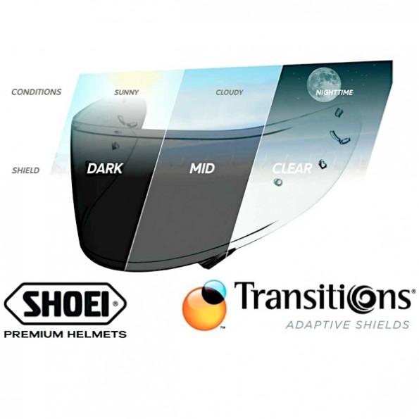 Ecran Shoei CWR-1 Transitions Photochromique pour casque intégral