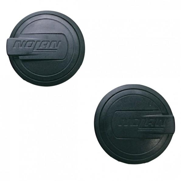Kit Vis Fixation Noir Ecran pour casque N40 et N40 Full jet et transformable