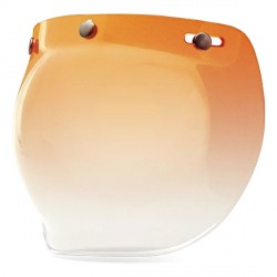 Bell Ecran 3-Snap Custom 500 Bubble Amber Gradient
