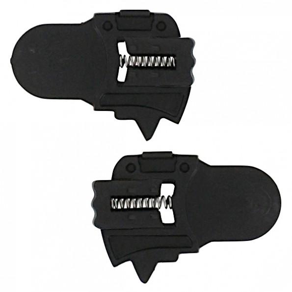 Sous Plaques Fixation Ecran pour casque Shark Openline Modulable