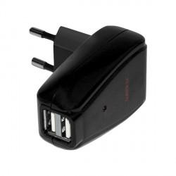 Nolan Chargeur Secteur Dual USB N-Com (B1)