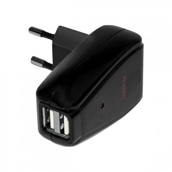Adaptateur Chargeur Dual USB Batterie N-Com Bluetooth B1 Nolan