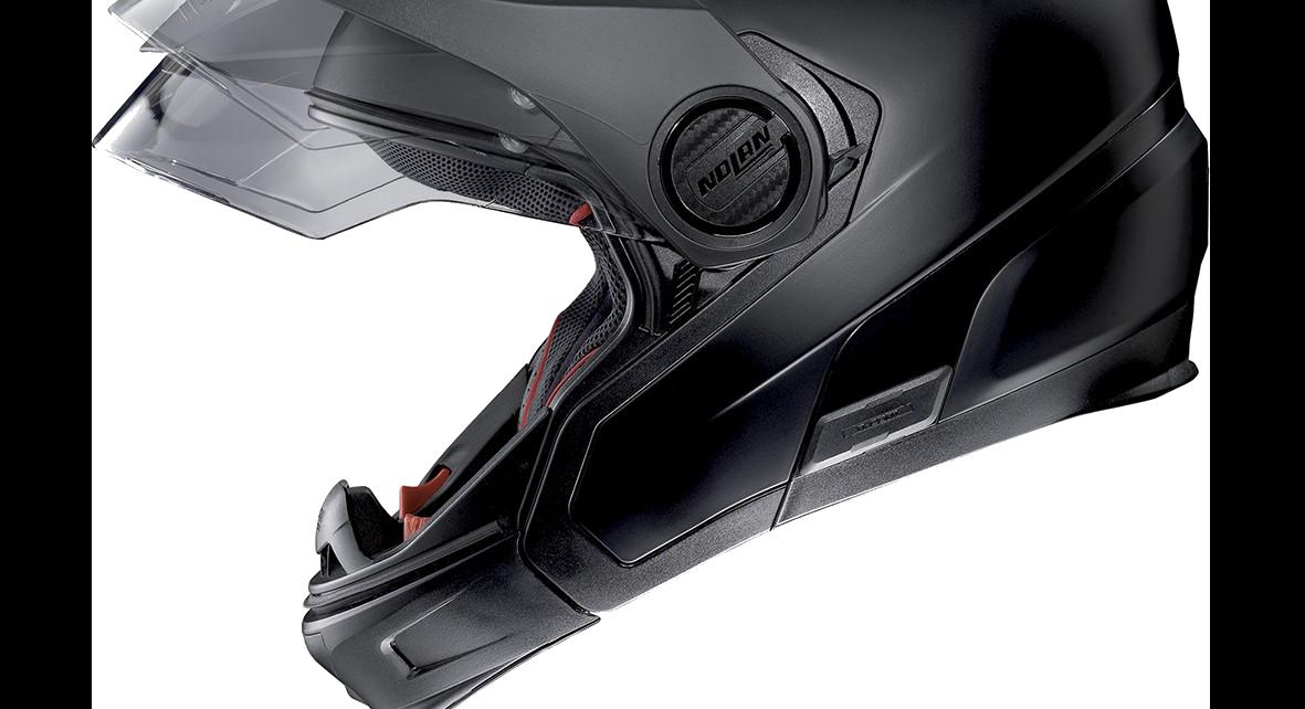 Casque Transformable Le Crossover Pour Moto Nolan Centrale Du Casque